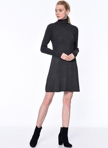 Balıkçı Yaka Triko Elbise-Only